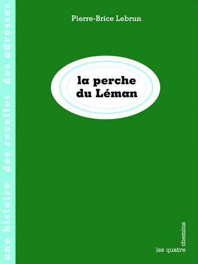 Couverture du livre La perche du Léman