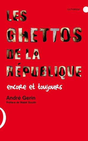 Couverture du livre Les ghettos de la République