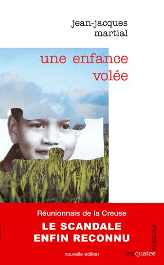 """Couverture du livre """"Une enfance volée"""""""