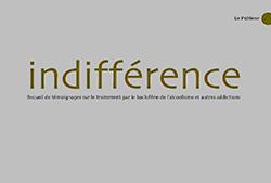 Couverture du livre Indifférence