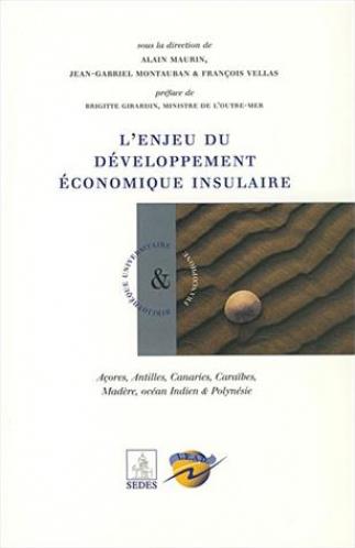 Couverture du livre L'enjeu du développement économique insulaire
