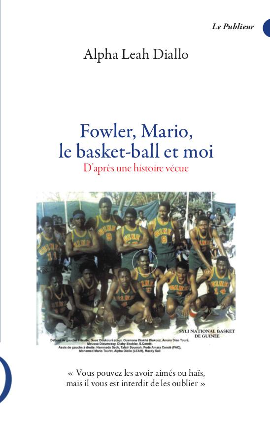 Couverture du livre Fowler, Mario le basket-ball est moi