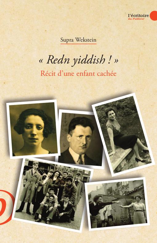 Couverture du livre « Redn Yiddish ! » Récit d'une enfance cachée