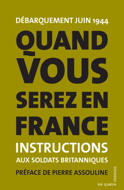 Couverture du livre Quand vous serez en France