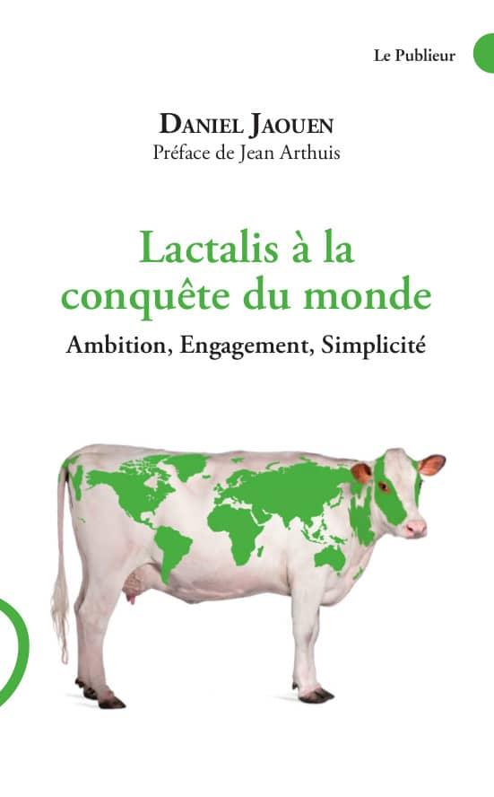 couverture du livre Lactalis à la conquête du monde